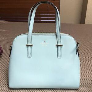 Eggshell light  Blue Kate Spade Hand bag